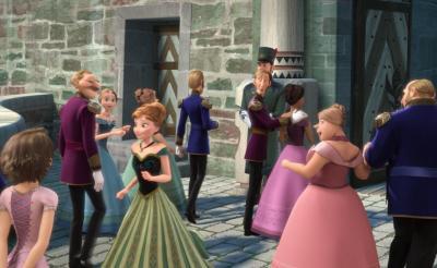 『アナと雪の女王』にあのカップルがカメオ出演!? 『塔の上のラプンツェル』地上派初放送で未公開映像も