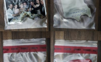 """燃え残った日記・カッター……『ゴーン・ガール』謎の""""証拠品写真""""解禁! 彼女は愛した男に殺されたのか?"""
