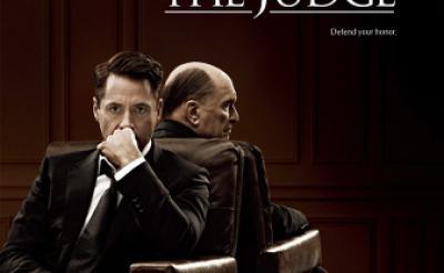 『ゴッド・ファーザー』にソックリ? Wロバート出演『ジャッジ 裁かれる判事』海外版ポスター