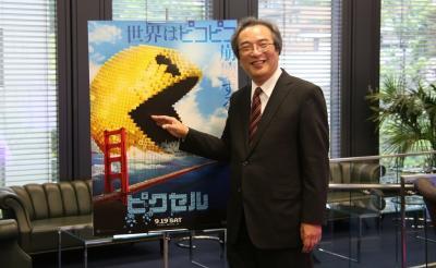パックマン開発者の岩谷徹教授が『ピクセル』に出演? 「80年代のゲームファンにとっては涙が出るような作品」