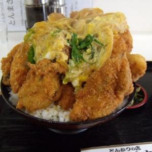 バイク乗りたちにも大人気! 『とんまさ びっくり牡蛎丼』驚異の盛りは大和郡山の奇跡!