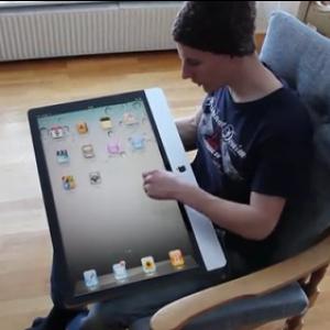 iPad2の動画が流出!? 27インチ液晶で携帯性抜群!