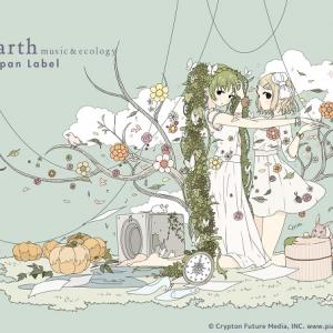 ガーリーなミク&リンのビジュアルも公開! 絵師ちほさんコラボの『Japan Label』ドレスが繊細 [オタ女]
