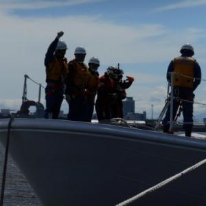 海上保安庁救難訓練