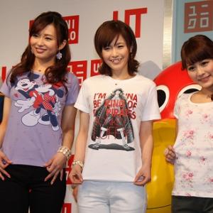 杉崎美香アナが『ワンピース』Tに興奮! 『UT』ユニクロTシャツが新作ラインナップを公開