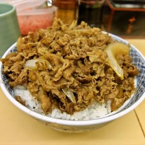 世界最速の『牛丼』を食す! @秋葉原『サンボ』