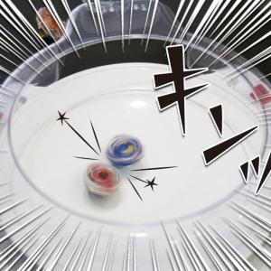 【対戦せんとす】タカラトミー本社で『ベイブレードバースト』対決! 使い方から遊び方まで動画解説