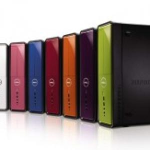 デスクトップパソコンもお好みの色に! DELLより8色のスタイリッシュな『Inspiron 545/545s』発表