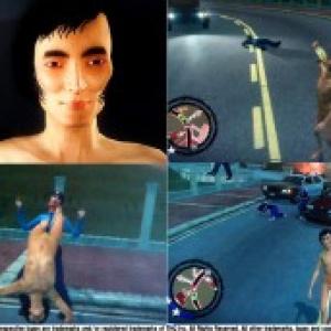草なぎ剛の逮捕を再現できるゲーム!? 全裸で暴れるゲームが『2ちゃんねる』で話題に