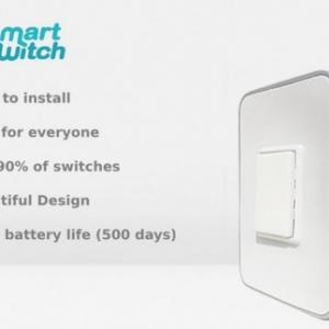 【時代はIoT】とってもカンタン!あっという間に取り付け可能なスマート照明スイッチ『Smitch: smart switch that installs in seconds』