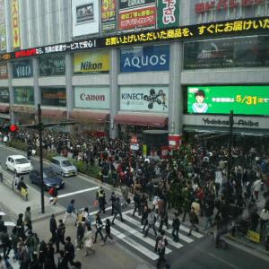 平野綾さんたちが秋葉原で街頭募金!ヨドバシ周辺が人だらけ!