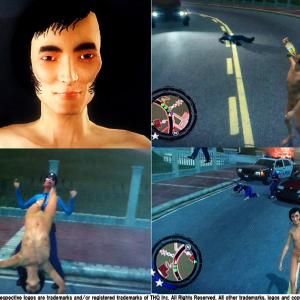 【写真】草なぎ剛の逮捕を再現できるゲーム!? 全裸で暴れるゲームが『2ちゃんねる』で話題に【写真】1/2P