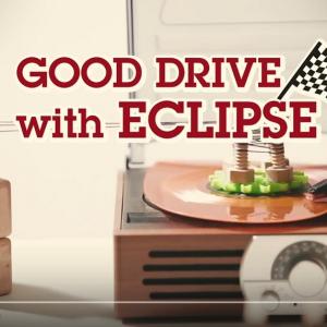 ミニカー×ピタゴラ装置 ショートムービー『GOOD DRIVE with ECLIPSE』に癒される