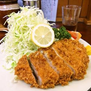 相模原で一番有名な『特選ロースかつ』を食す! @『とんかつ赤城』神奈川県相模原市