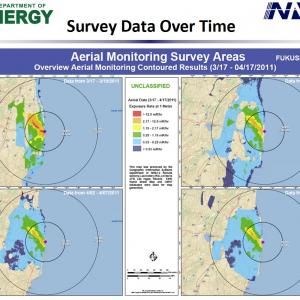 【資料】米エネルギー省国家核安全保障局(NNSA)が福島原発最新資料を公開(4/22付)
