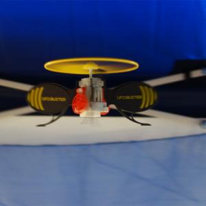 【クリスマスおもちゃ見本市2015】自律飛行するヘリを撃ち落す『UFOバスター』が10月発売へ
