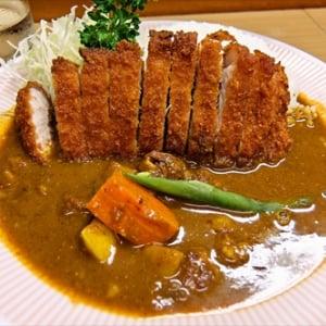 頑固親父が作る日本一美味いカツカレーとやらを食べてみた @『アサノ』東京都町田市