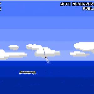 ファルコン9の着陸がどれだけ難しいかを体験できるミニゲーム これは無理ゲーだろ……