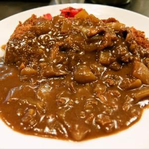 ナポリタンで有名な洋食屋さんで食べるカツカレー @『タマガワ』横浜 福富町