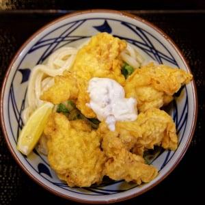 モモ肉を使った鶏天がジューシー! 丸亀製麺『タル鶏天ぶっかけ』試食会に行ってきた
