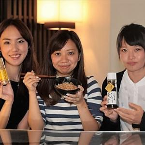 東京で買う地方の食材だけで昼女子会! 『高知県産卵かけごはん』と『お茶の葉』
