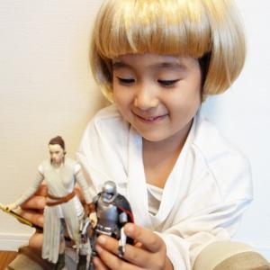 ルーク(5才)が『スター・ウォーズ/フォースの覚醒』フィギュア17種で遊んでみた