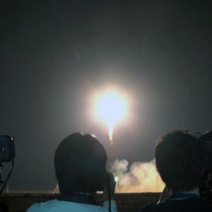古川飛行士、宇宙へ ソユーズ打ち上げ成功