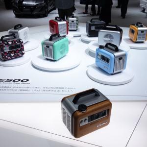 【東京モーターショー2015】給油キャップは「発電機へのオマージュ」 ホンダがポータブル蓄電機『E500』を出展