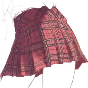 【まめち】梅雨に実用的! 女性の下着の色を当てる技
