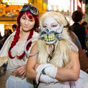 ハロウィーン前夜に大盛り上がりの渋谷に突撃!仮装画像まとめ 前編