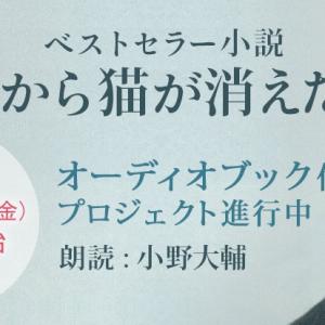 小野大輔さんロングインタビュー!~マガジンハウス担当者の今推し本 オーディオブック『世界から猫が消えたなら』