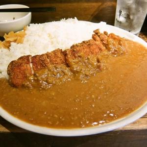 居酒屋のランチでカツカレー大盛りを食す! @『月とん』東京都町田市