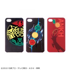 """""""欲望""""がデザインを決める!? 『仮面ライダーオーズ』iPhone4対応ハードジャケット"""