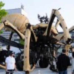 【写真】ワー! 横浜に巨大グモが出現『ラ・マシン』【写真】