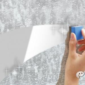 『SDダイヤモンドパフ』頑固にこびりついたにっくき鏡のウロコ汚れがスルスル取れる!