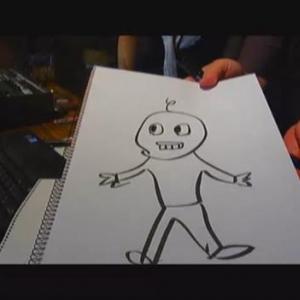 蛭子さんが人気アニメキャラを描くとエライことになる件