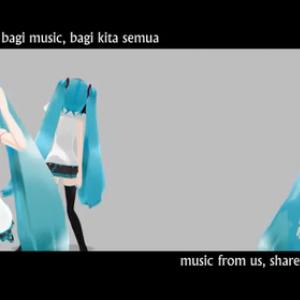 インドネシア人が作った初音ミクの曲が凄い! インドネシアでもLat式は好まれるのか?