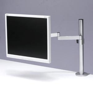 デスク空間の有効利用に! 位置や角度を調整できる液晶モニタアーム5種類発売