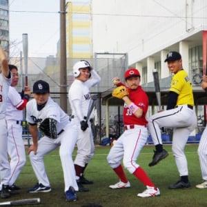 桑田・松井・清宮君まで…! 超豪華メンバーのものまね芸人と草野球してきた!