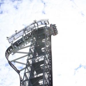 【動画あり】最大落下角度121度 富士急ハイランドの絶叫アトラクション『高飛車』に乗ってきた!