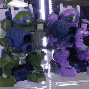 タカラトミーの銃撃ロボットおもちゃ『ガガンガン』に『ボトムズ』のスコープドッグモデルがお披露目 3月発売へ