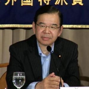 「電力消費量を10%削減し、10年以内に脱原発を」 共産・志位委員長が外国特派員にアピール
