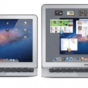 アップル 新『Mac Book Air』11&13インチを発表 『Lion』搭載8万円台から