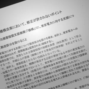 東電を「ゾンビ企業」にして電力自由化の道を閉ざす――東電救済法案「根回し文書問題」渡辺喜美氏にきく(2)