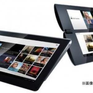 Sony Tablet S1は4モデル、S2は2モデルラインアップ?