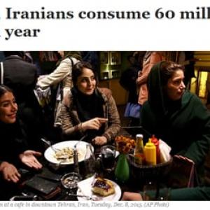 イランのアルコール消費量は年間6000万リットル 禁忌じゃなかったの?