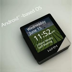 腕時計にもなるAndroidベース小型多機能端末「WIMM Labs 1.4」