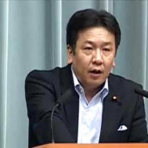 「自主避難者にも賠償を」 枝野長官「東京電力に指導していく」