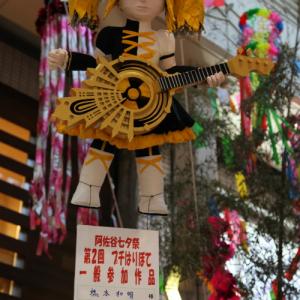 阿佐ヶ谷七夕祭りの様子を紹介 「鏡音リン」「マツコデラックス」など有名キャラ勢揃い