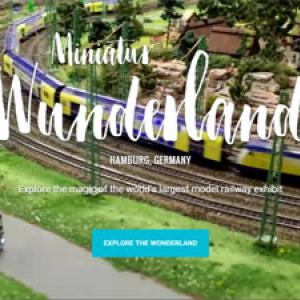 世界最大の鉄道模型ジオラマが『Google マップ』に追加 ミニチュア世界の住人になった気分!